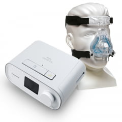 Kit CPAP DreamStation Automático com Máscara Nasal ComfortGel Blue M - Philips Respironics